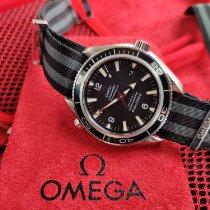 Omega Seamaster Planet Ocean Acier 42mm Noir Arabes France, Reims