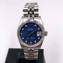 Rolex Datejust 31 Acciaio 31mm Blu Italia, Roma