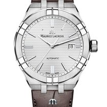 Maurice Lacroix AI6008-SS001-130-1 Steel 2021 AIKON 42mm new