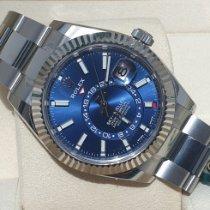 Rolex Sky-Dweller Steel Blue No numerals UAE, Dubai