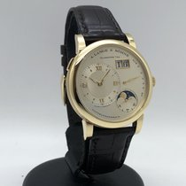 A. Lange & Söhne Yellow gold Manual winding White Roman numerals 38.5mm pre-owned Lange 1