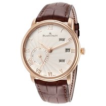 Blancpain Rose gold Manual winding Roman numerals 40mm new Villeret