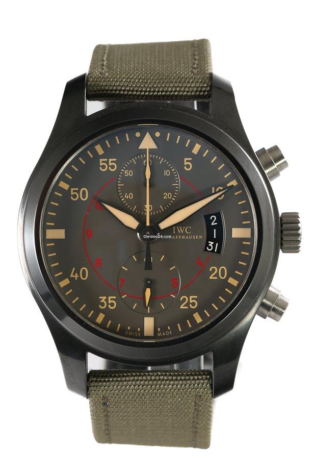 IWC Pilot Chronograph Top Gun Miramar IW388002 2013 pre-owned