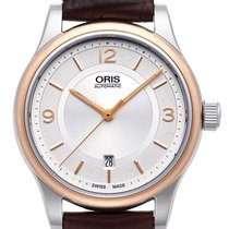 Oris Classic 01 733 7594 4331-07 5 20 12 New 42mm Automatic