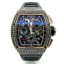 Richard Mille pre-owned Automatic Transparent Sapphire crystal 5 ATM