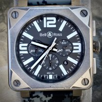 Bell & Ross BR 01-94 Chronographe Титан 46mm Черный