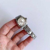 Rolex Oyster Perpetual 26 usado 26mm Prata Aço