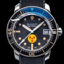 Blancpain new Automatic Display back Luminous numerals Limited Edition Screw-Down Crown 45mm Steel Sapphire crystal