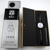 REC Watches Gold/Steel 44mm Automatic P51-03-0581 new