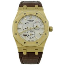 Audemars Piguet Royal Oak Dual Time Yellow gold 39mm White No numerals United States of America, California, Fullerton