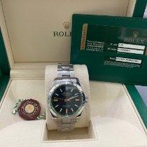 Rolex Milgauss Acciaio 40mm Nero Senza numeri Italia, MI