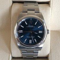 Rolex Oyster Perpetual Steel 41mm Blue No numerals United Kingdom, GLASGOW