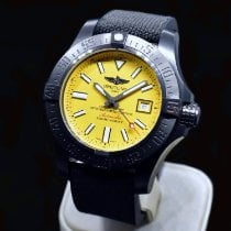 Breitling Avenger II Seawolf pre-owned 45mm Yellow Date Rubber