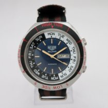Heuer new Automatic Central seconds Rotating Bezel Quick Set 45mm Steel Plastic