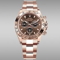 Rolex Daytona 116505-0013 Νέα Ροζέ χρυσό 40mm Αυτόματη