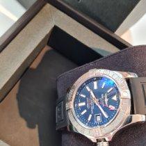 Breitling Avenger II GMT Stahl Blau