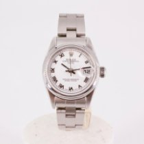Rolex Oyster Perpetual Lady Date Steel 26mm White Roman numerals United Kingdom, London