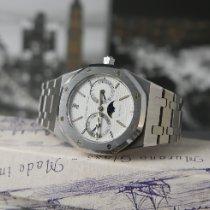 Audemars Piguet Royal Oak Day-Date Steel 36mm White No numerals United Kingdom, London