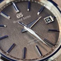Seiko Grand Seiko Steel 40mm Grey No numerals