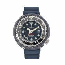 Seiko Prospex Steel 52mm Blue United States of America, Texas, Plano