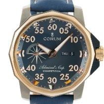 Corum Admiral's Cup Competition 48 Titanio 47mm Azul