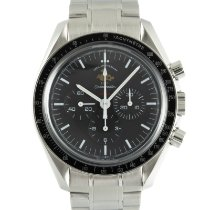 Omega Speedmaster Professional Moonwatch Aço 42mm Preto