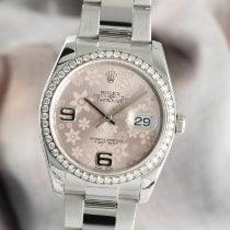 Rolex Lady-Datejust 116244 Sehr gut Gold/Stahl 36mm Automatik