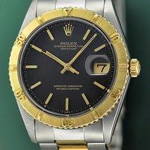 Rolex Datejust Turn-O-Graph Χρυσός / Ατσάλι 36mm Μαύρο Xωρίς ψηφία Ελλάδα, Athens