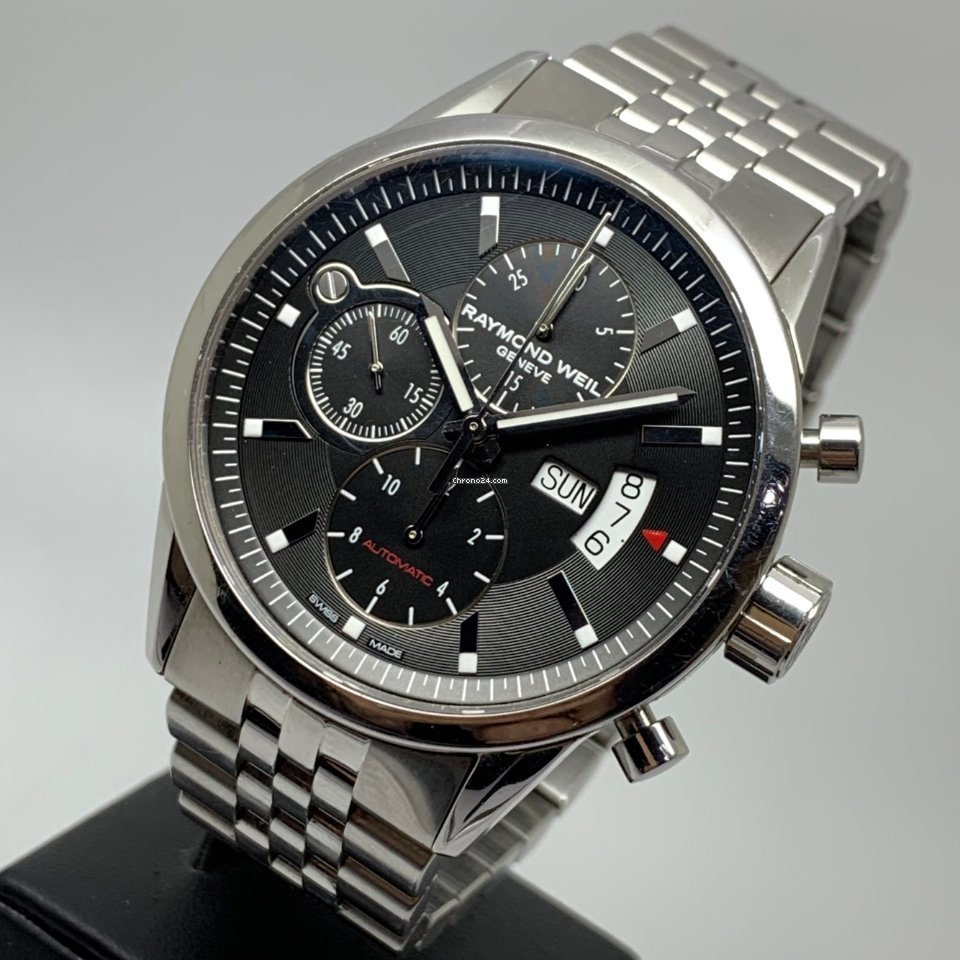 Raymond Weil Freelancer Watch 42mm Automatic Day Date Chronograph