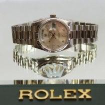 Rolex Day-Date White gold 36mm Silver No numerals