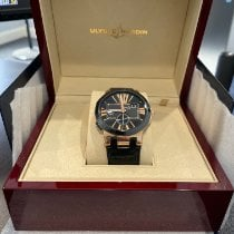 Ulysse Nardin Executive Dual Time Rose gold 43mm Black Roman numerals United States of America, Ohio, Bedford Hts