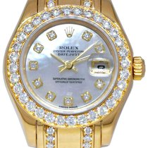 Rolex Lady-Datejust Pearlmaster Yellow gold 29mm United States of America, Florida, Boca Raton