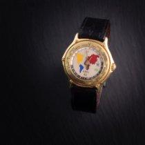Ebel Voyager Желтое золото 38mm Белый Без цифр
