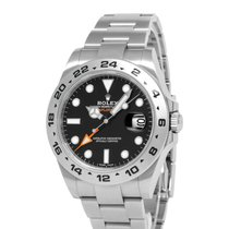 Rolex 216570 Steel 2019 Explorer II 42mm pre-owned United States of America, New York, Hartsdale