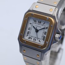 Cartier Santos (submodel) 0902 Very good Gold/Steel 23mm Automatic