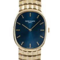 Patek Philippe 3848/15 Yellow gold 1990 Golden Ellipse 32.5mm pre-owned