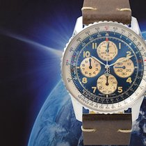 Breitling A33030 Steel 1996 Navitimer 38mm pre-owned
