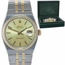 Rolex Datejust Oysterquartz Acero y oro 36mm Champán
