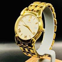 Concord Yellow gold Quartz White Roman numerals pre-owned Impresario