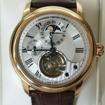 Frederique Constant Manufacture Heart Beat Rose gold 42mm Silver