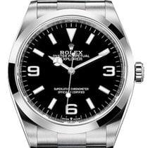 Rolex Explorer Steel 36mm Black Arabic numerals United States of America, New York, New York