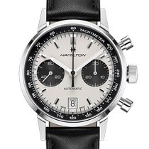 Hamilton Intra-Matic new Automatic Chronograph Watch with original box and original papers H38416711