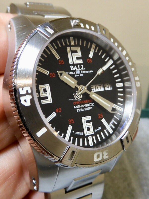 Ball Engineer Hydrocarbon Spacemaster 2036A pre-owned