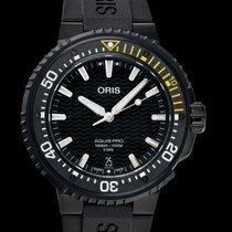 Oris Ceramic Automatic Black 49.50mm new Aquis Titanium Date
