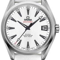 Omega Seamaster Aqua Terra Steel 38.5mm White