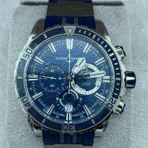 Ulysse Nardin Diver Chronograph Stahl Blau