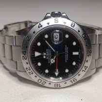 Rolex Explorer II Steel 40mm Black No numerals Malaysia
