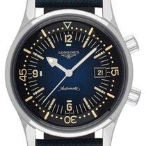 Longines Legend Diver neu 2021 Automatik Uhr mit Original-Box und Original-Papieren L3.774.4.90.2