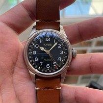 Oris Big Crown Pointer Date Steel 40mm Black Arabic numerals