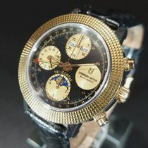 Universal Genève Gold/Steel 39mm Automatic 699.104 pre-owned United States of America, New Jersey, Atlantic city